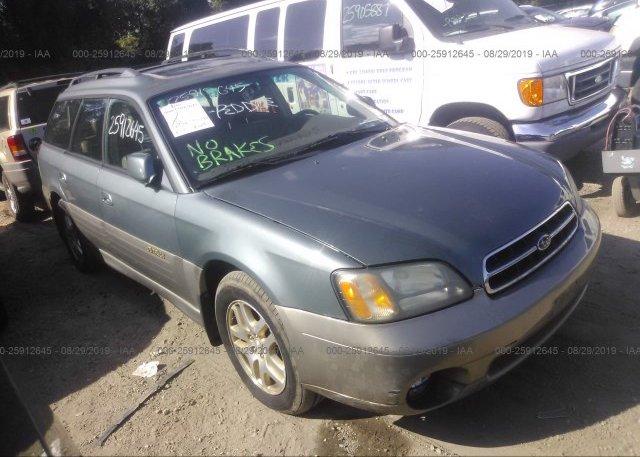 Inventory #736370949 2001 Subaru LEGACY