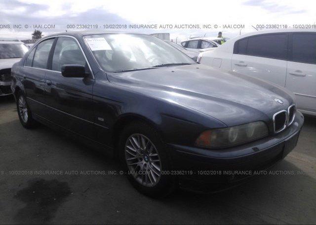 Inventory #942145024 2002 BMW 530