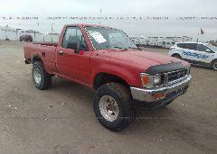 1992 Toyota PICKUP - 4TAVN01D1NZ025237 Left View