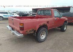 1992 Toyota PICKUP - 4TAVN01D1NZ025237 rear view