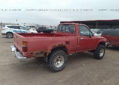 1992 Toyota PICKUP - 4TAVN01D1NZ025237 front view