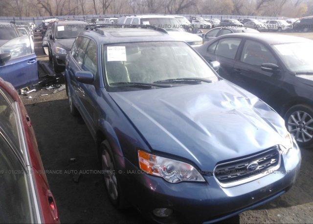Inventory #101345403 2007 Subaru OUTBACK