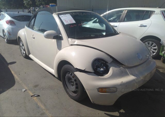 Inventory #548698768 2003 Volkswagen NEW BEETLE