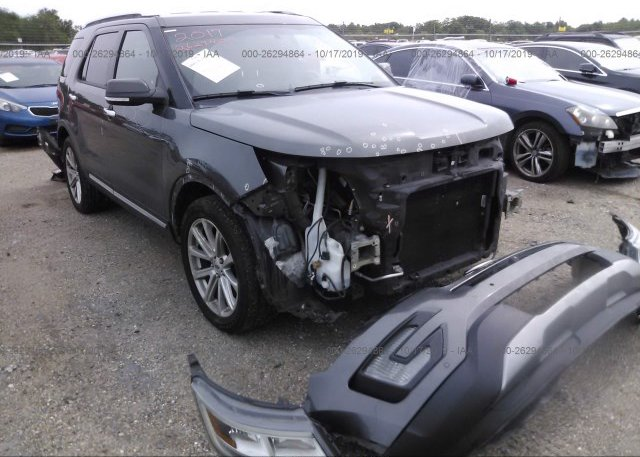 Inventory #613760699 2017 FORD EXPLORER