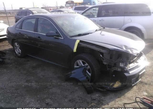 Inventory #639974877 2014 CHEVROLET IMPALA LIMITED