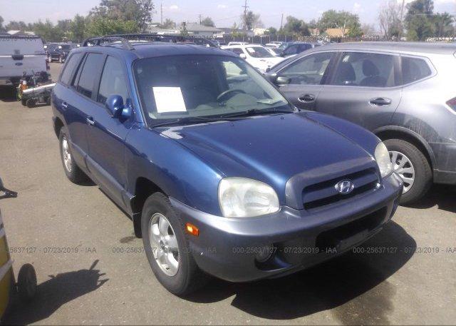 Inventory #653591220 2006 Hyundai SANTA FE