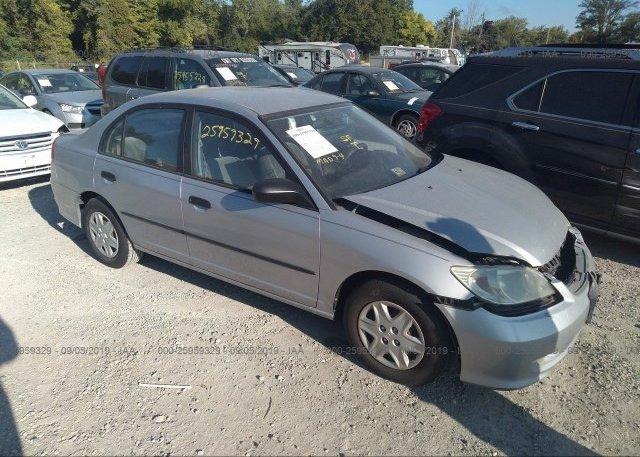 Inventory #820015390 2005 Honda CIVIC