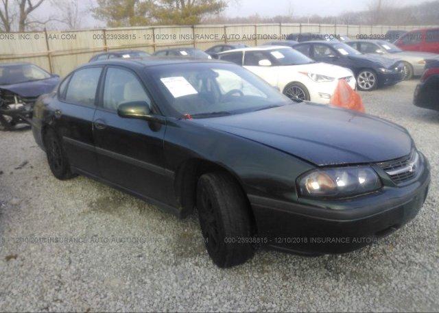 Inventory #838114922 2002 Chevrolet IMPALA