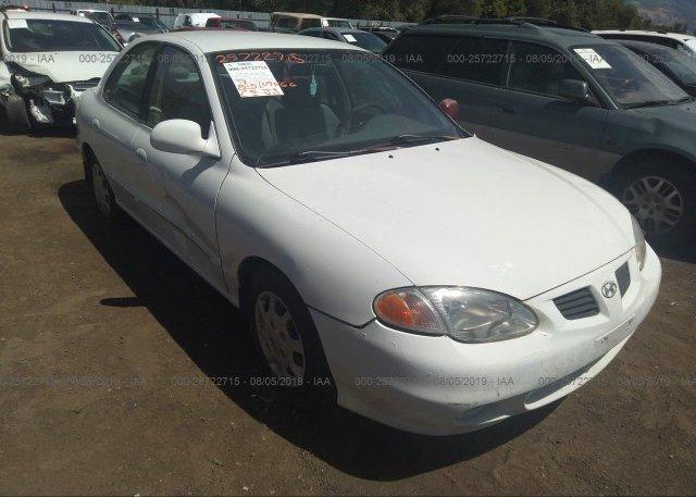 Inventory #453529322 2000 Hyundai ELANTRA