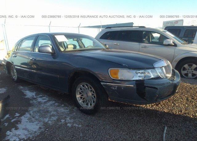 1lnbp96f9fy624227 Clear Black Lincoln Town Car At Belleville Mi On