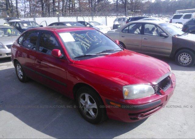 Inventory #456121616 2004 Hyundai ELANTRA