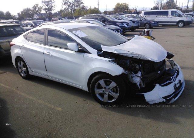 Inventory #462354113 2013 Hyundai ELANTRA