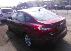 2013 FORD FOCUS - 1FADP3F22DL306702 [Angle] View
