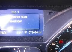 2013 FORD FOCUS - 1FADP3F22DL306702 inside view