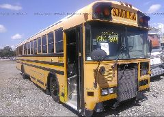 2007 BLUE BIRD SCHOOL BUS / TRAN
