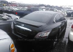 2014 Nissan MAXIMA - 1N4AA5APXEC909045 rear view