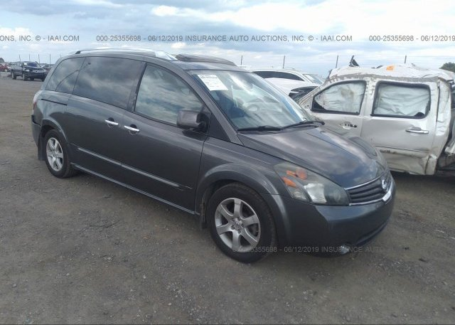 Inventory #754654300 2007 NISSAN QUEST