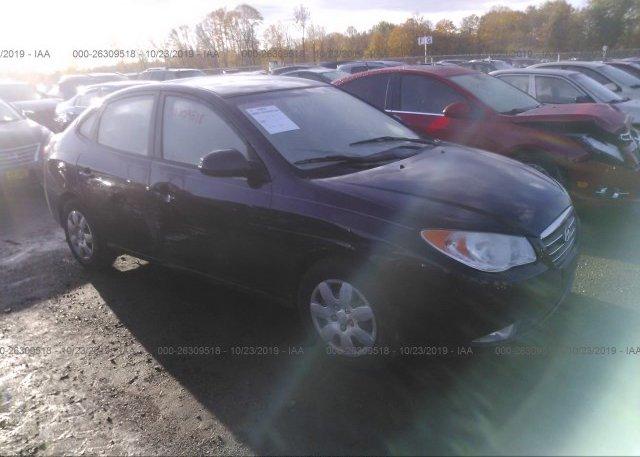 Inventory #205333978 2008 Hyundai ELANTRA