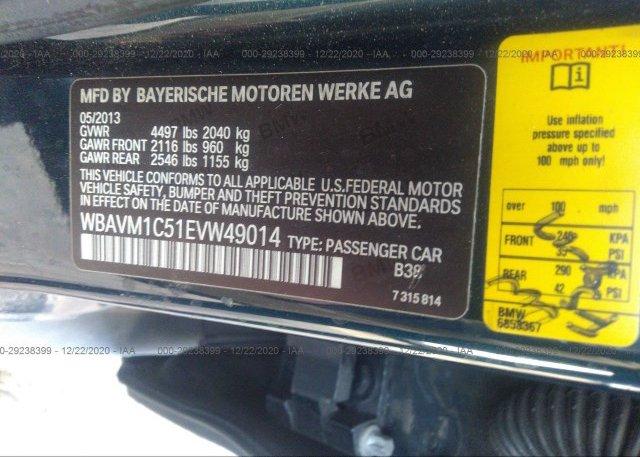 WBAVM1C51EVW49014 2014 BMW X1