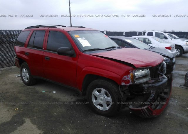 1gnds13s322210427 Salvage Title Red Chevrolet Trailblazer At Justin