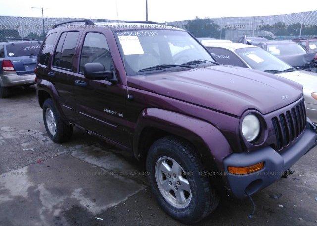 Inventory #959309587 2002 JEEP LIBERTY