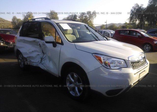 Inventory #119104593 2016 Subaru FORESTER
