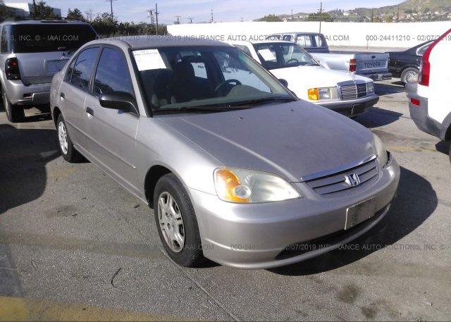 Inventory #900263339 2001 Honda CIVIC
