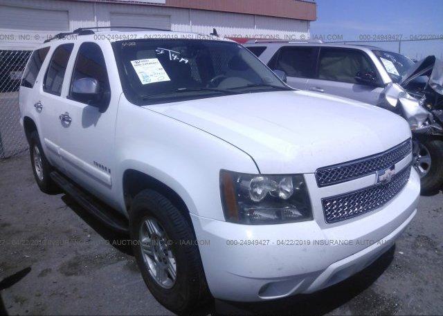 Inventory #762759735 2007 Chevrolet TAHOE