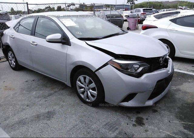 Inventory #687520725 2014 Toyota COROLLA