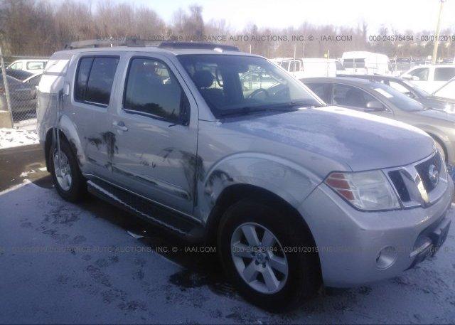 Inventory #618909640 2008 Nissan PATHFINDER