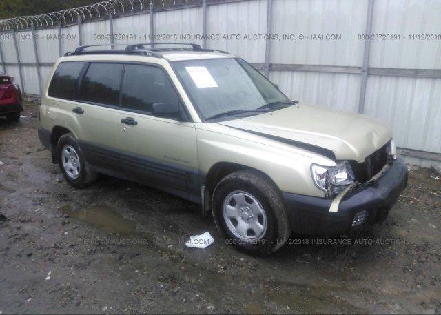 Inventory #352540107 2001 Subaru FORESTER