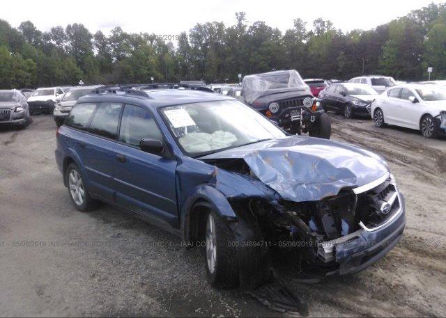 Inventory #540284907 2008 Subaru OUTBACK