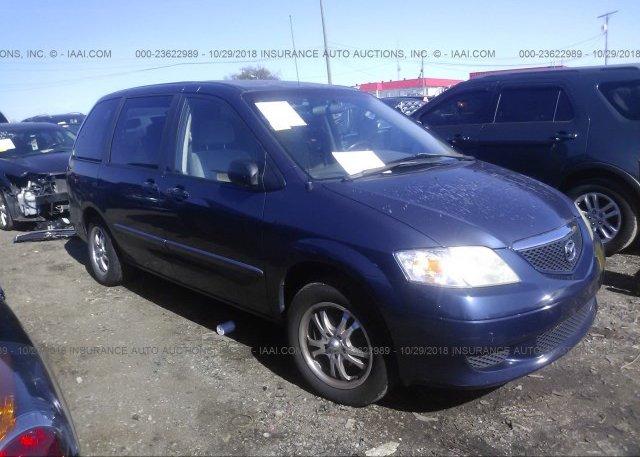 Inventory #259820095 2002 Mazda MPV