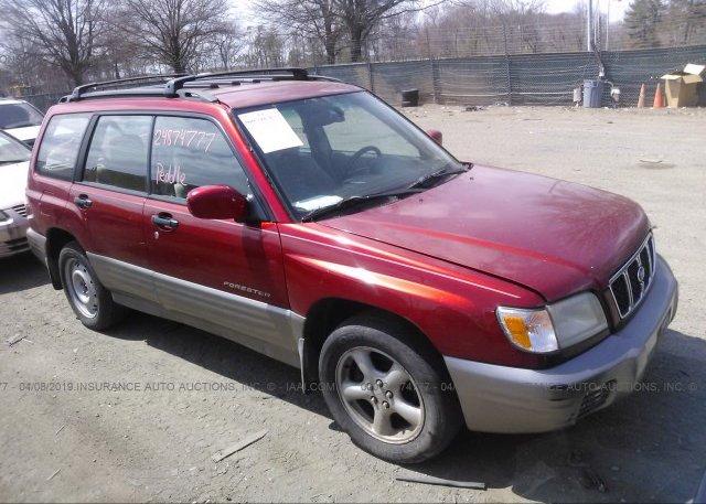 Inventory #750590373 2002 Subaru FORESTER
