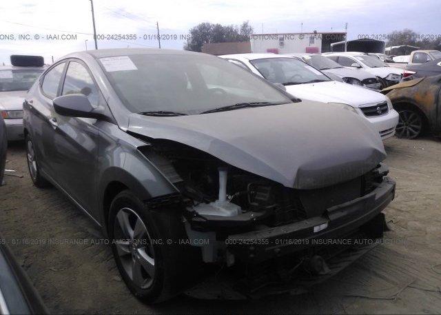 Inventory #506663831 2013 Hyundai ELANTRA