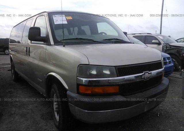 Inventory #271780543 2005 Chevrolet EXPRESS G3500