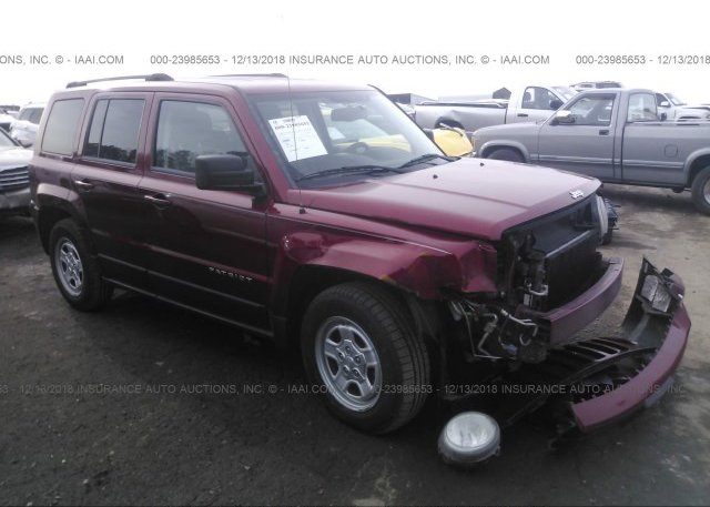 Inventory #852259987 2012 JEEP PATRIOT