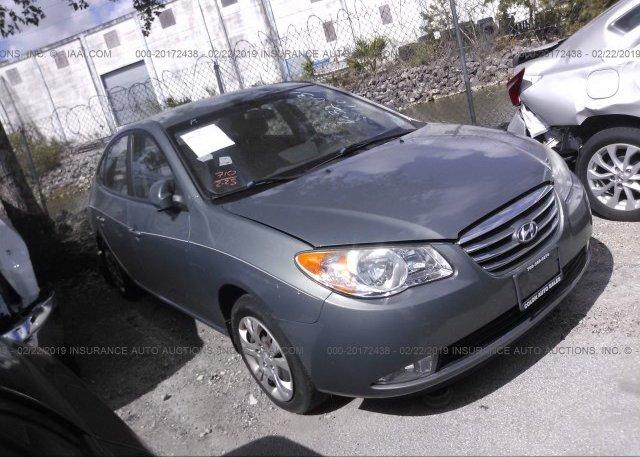 Inventory #686866564 2010 Hyundai ELANTRA