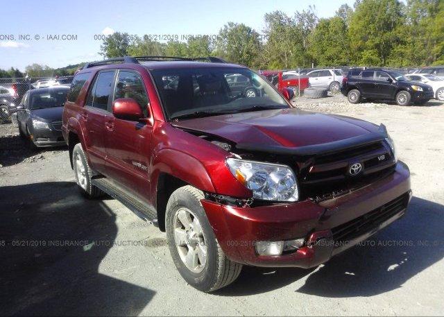 Inventory #103756445 2005 Toyota 4RUNNER