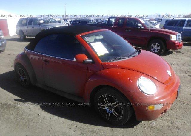 Inventory #599365236 2003 Volkswagen NEW BEETLE