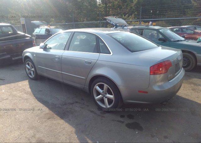 2007 AUDI A4 - WAUDH78E97A098840