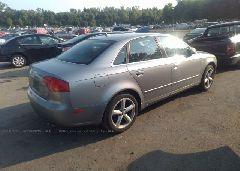 2007 AUDI A4 - WAUDH78E97A098840 rear view