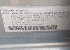 2007 AUDI A4 - WAUDH78E97A098840 engine view