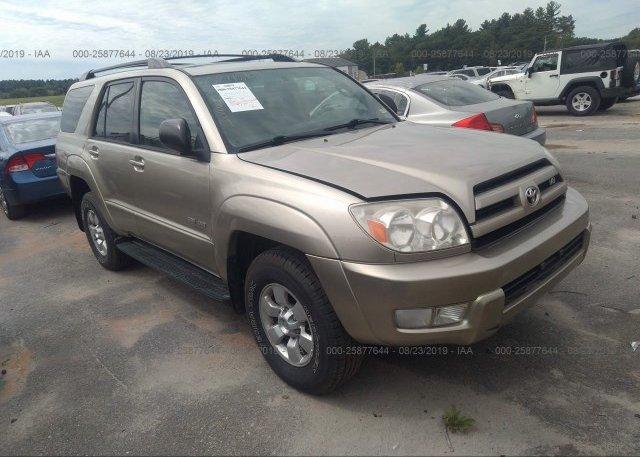 Inventory #128951987 2003 Toyota 4RUNNER