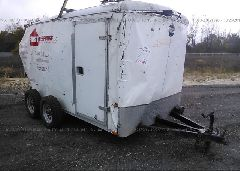 2001 WELLS CARGO UTILITY - 1WC200E2311094645 Left View