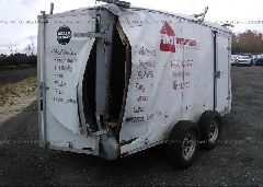 2001 WELLS CARGO UTILITY - 1WC200E2311094645 rear view
