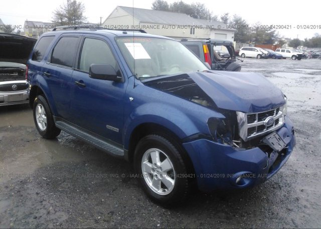 Inventory #753625985 2008 FORD ESCAPE