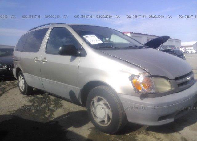 Inventory #499681027 2001 Toyota SIENNA