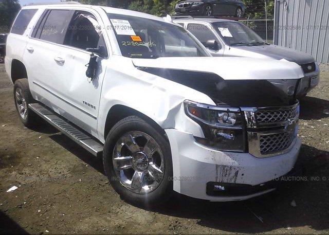 Inventory #480322403 2017 Chevrolet TAHOE