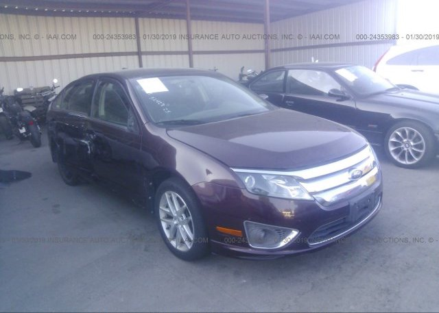 Inventory #548090998 2012 FORD FUSION